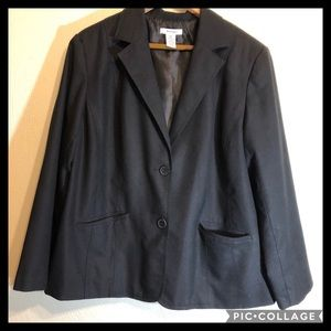 Dress Barn Women Black Blazer
